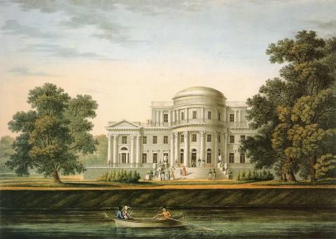 Беггров К. П., Дворец на Елагином острове. 1820-е гг..