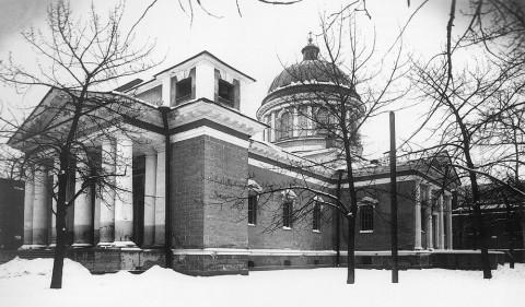 Неизвестный фотограф, Церковь апостола Павла при Александровской мануфактуре. 1920 г..