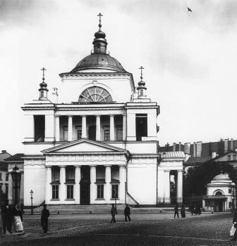 Матвеев Н. Г., Вид на единоверческую церковь святителя Николая Чудотворца. 1900-е гг..
