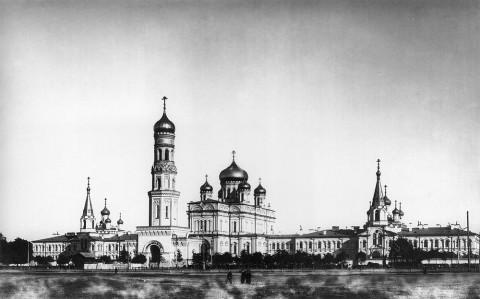 Булла К. К., Воскресенский Новодевичий монастырь. 1912.