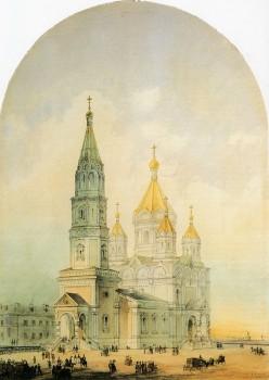 Кольман К. К., Церковь священномученика Мирония при лейб-гвардии Егнерском полку. 1855.