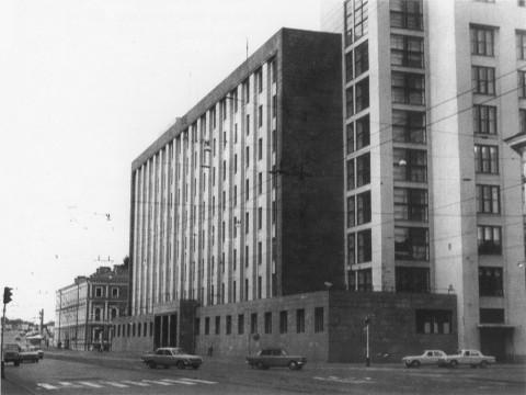 Дубин А., Административное здание ОГПУ-НКВД. 1970 г..