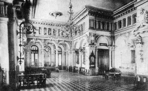 Зал Общества взаимного кредита. 1913.