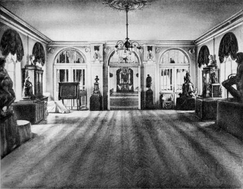 Пушкинский зал.