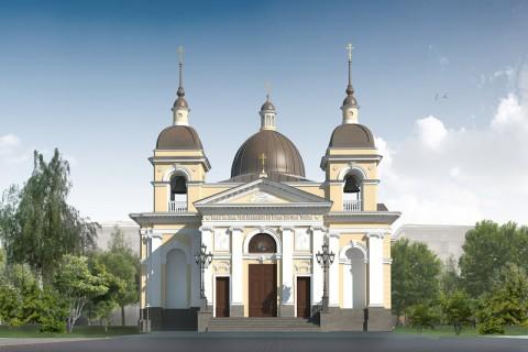 Проект воссоздания церкви Рождества Христова на Песках.