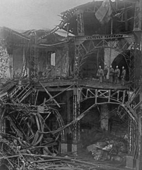 Вид Народного дома после пожара. 1932 г..