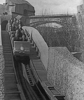Катание на американских горах. 02.05.1935.