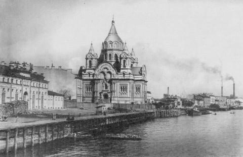 Церковь во имя св. Бориса и Глеба на Калашниковской набережной.