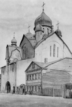 Казанская церковь.