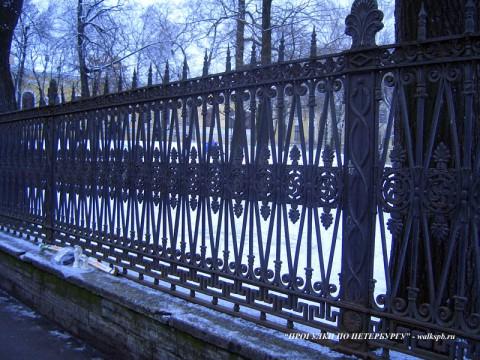 Ограда Юсуповского сада.