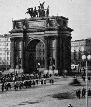 Нарвские триумфальные ворота. 1953 г..