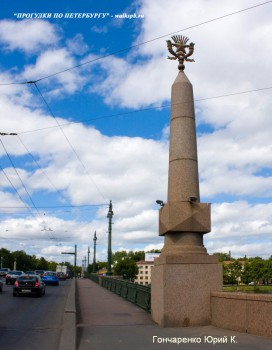 Гончаренко Ю.К., Каменноостровский мост.