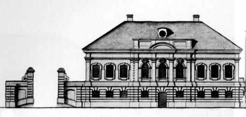 Дом императорского кофишенка Саблукова. 1740-е.