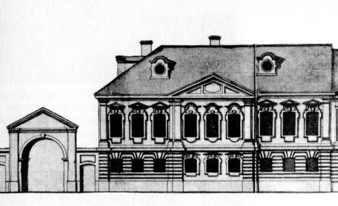 Дом Янкова - адъютанта генерала Салтыкова. 1740-е.