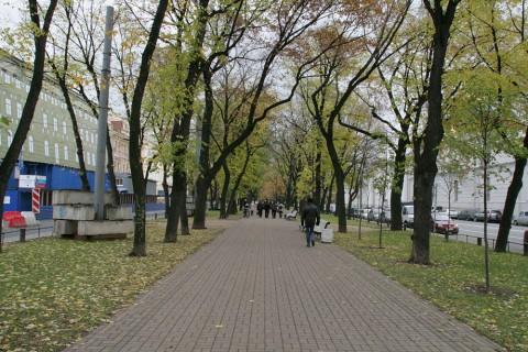 Конногвардейский бульвар. 2011.10.23.