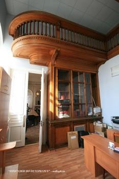 Библиотека в особняке О. В. Серебряковой. 2009.03.21.