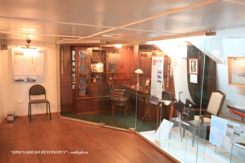Ледокол-музей «Красин». 2008.10.26.
