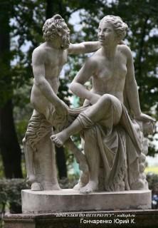 Сатир и вакханка.