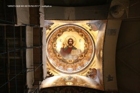 Купол церкови Успения Пресвятой Богородицы. 2008.02.16.