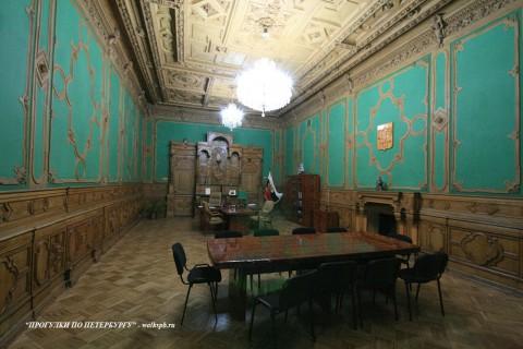 Столовая в доме И. В. Пашкова. 2009.02.13.