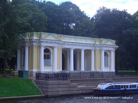 Павильон Росси в Михайловском саду. 2007.08.27.
