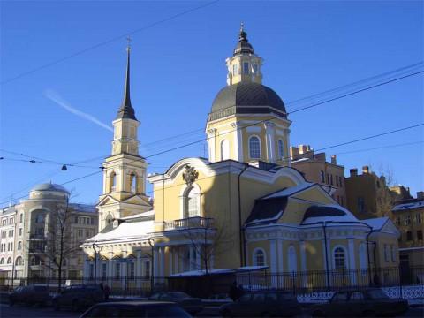 Церковь святых Симеона и Анны. 2007.02.25.