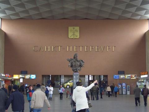 Световой зал Московского вокзала. 2007.03.18.
