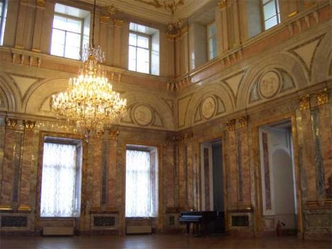 Мраморный зал в Мраморном дворце. 2007.02.04.
