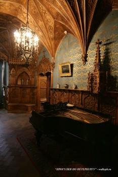 Музыкальная комната К.Р. в Мраморном дворце. 2010.02.14.