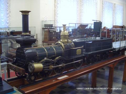 Музей железнодорожного транспорта.