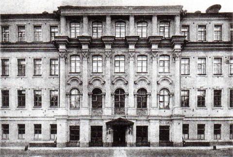 Неизвестный фотограф, Школа Святого Петра (Петришуле). нач. 1900-х гг..