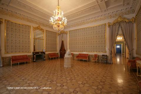 Большая гостиная в Строгановском дворце. 2010.02.28.