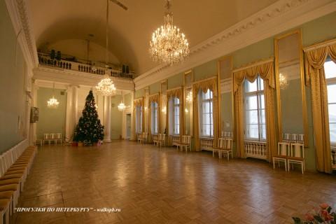 Танцевальный зал в Аничковом дворце. 2009.12.26.