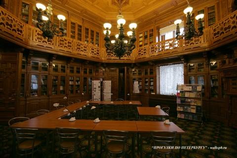 Библиотека в Аничковом дворце. 2009.12.26.