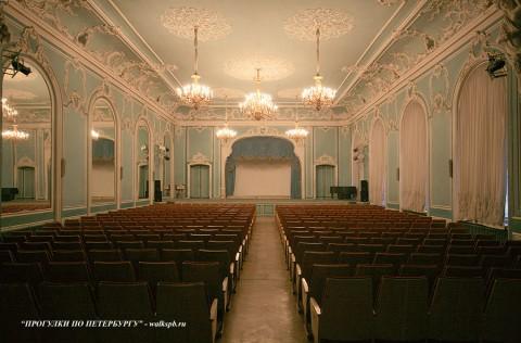 Зеркальный зал во дворце Белосельских-Белозерских. 2008.12.21.