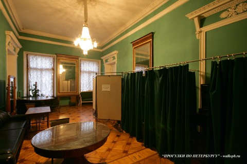 Комната в особняке Д. Е. Бенардаки. 2009.11.29.