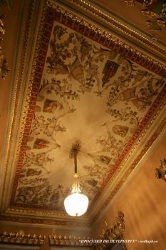Плафон комнаты в особняке Д. Е. Бенардаки. 2009.11.29.