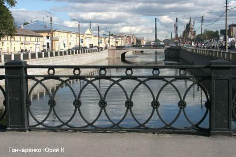 Гончаренко Ю.К., Краснооктябрьский мост.