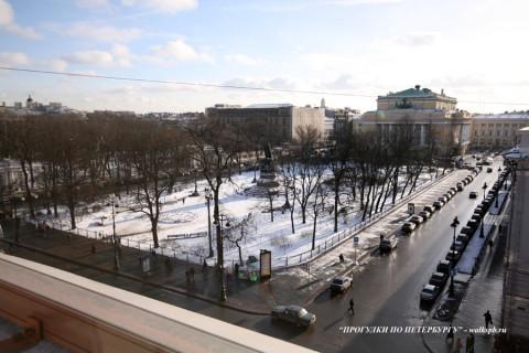 Площадь Островского. 2008.02.18.