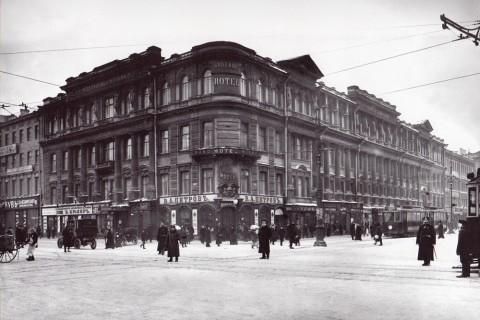Дом А. М. Ушакова, 1907-1914 годы