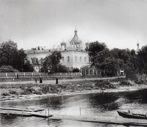 Киновия Александро-Невской лавры. 1900-е годы.