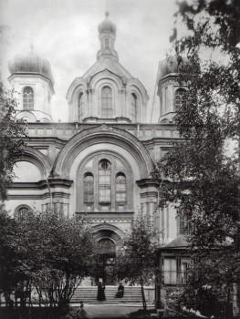 Церковь Пресвятой Троицы в киновии Александро-Невской лавры. 1900-е годы.
