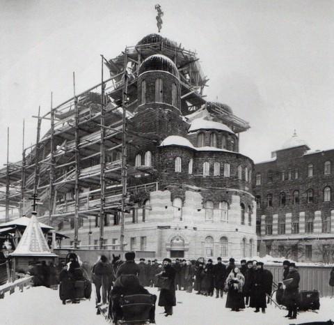 Булла К. К., Строительство Петербургского Иоанновского монастыря. 1898.