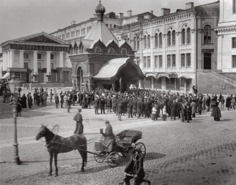 Булла К. К., Часовня Христа Спасителя Гуслицкого Спасо-Преображенского монастыря. 1900-е годы.