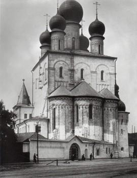 Неизвестный фотограф, Собор Феодоровской Божией Матери в память 300-летия Дома Романовых. 1913.