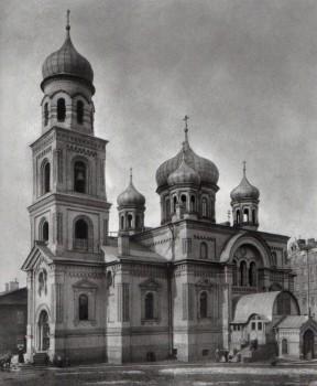 Неизвестный фотограф, Церковь Преображения Господня (Колтовская). 1900-е годы.