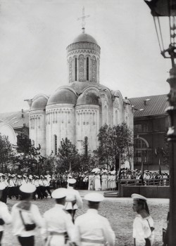 Фотоателье Буллы, Освящение церкви Христа Спасителя (Спас-на-водах). 1911.