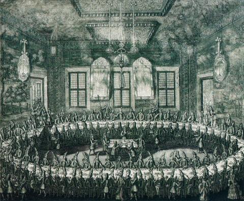 Свадьба Петра I и Екатерины