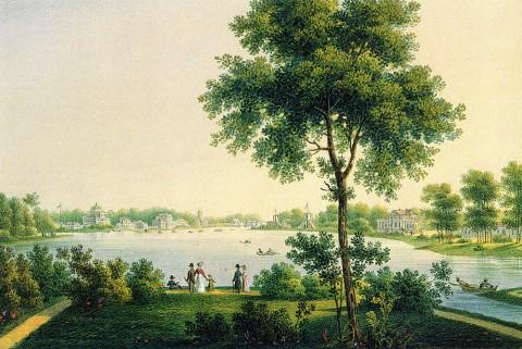 Беггров К. П., Крестовский остров. Вторая половина 1820-х - 1830-е годы.