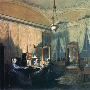 Гау Э. П., Туалетная принцессы Терезии Ольдербургской. Первая половина 1860-х годов.